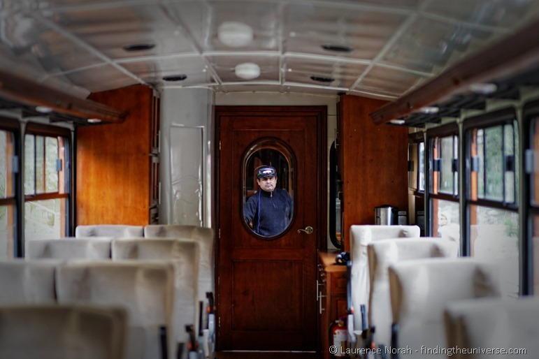 Train guard ecuador nariz diablo devil nose interior carriage