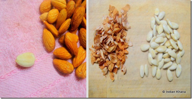 How to blanched almond at home recipe