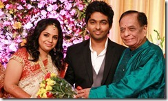 Balamuralikrishna at GV Prakash Kumar & Saindhavi Wedding Reception Photos
