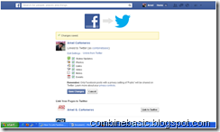 How To Link Facebook And Twitter Account