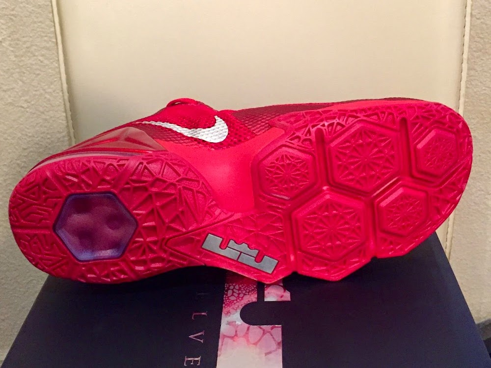 6c22b5a1ef1 ... Nike LeBron 12 Low Red Makes a Surprising Debut at Footlocker ...