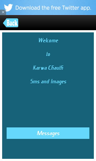 Karwa Chauth SMS Messages Msgs