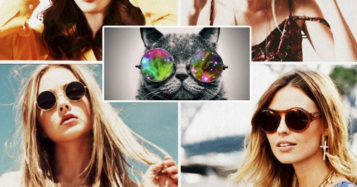 A moda do óculos de sol com lente redonda combina com você    Maria Vitrine  - Blog de Compras, Moda e Promoções em Curitiba. fea0e6b948