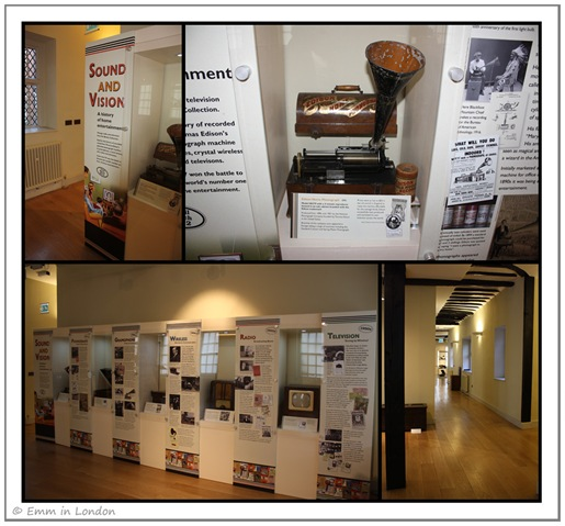Sound and Vision Exhibit at Hall Place