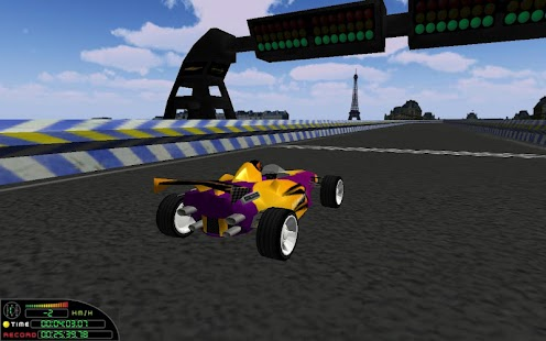 Speed on Racer 3D - screenshot thumbnail