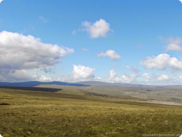 cross fell in clear air