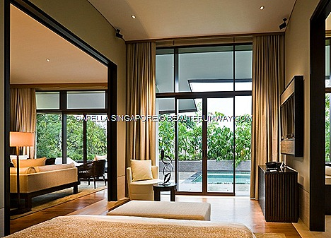 CAPELLA SINGAPORE VALENTINE'S DAY ROMANTIC GETAWAY Capella One Bedroom Garden Villa