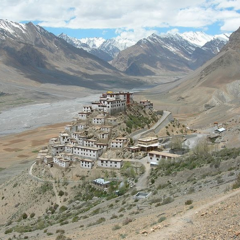The Beautiful Key Monastery, India