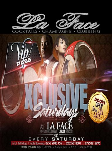 Club La Face App