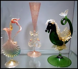 02f2- Corning Glass Museum - Unique Goblets