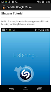 Send to Google Music screenshot 3