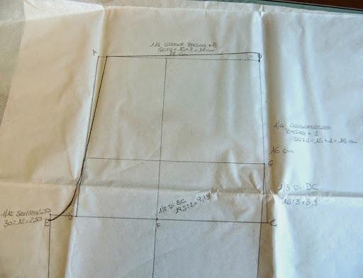 Popolare La mia craft room: Tutorial: creare il cartamodello pantaloni IM14