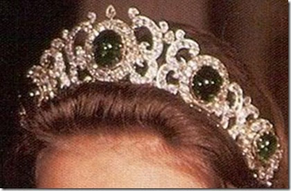 New Royal Day Discussion Tiara Tuesday Emerald Parure Tiara