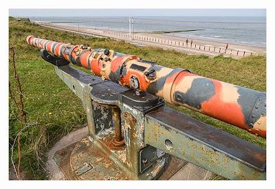 LP: Atlantikwall - Stp Tirpitz (Museum Raversyde) - Entfernungsmesser mit Anzeige