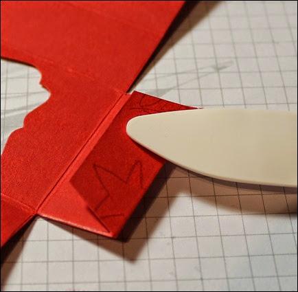 Teelichter Verpackung Schachtel Nikolaus Weihnachten Box selbstgemacht 6