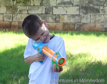 Davy Crockett sharpshooting practice
