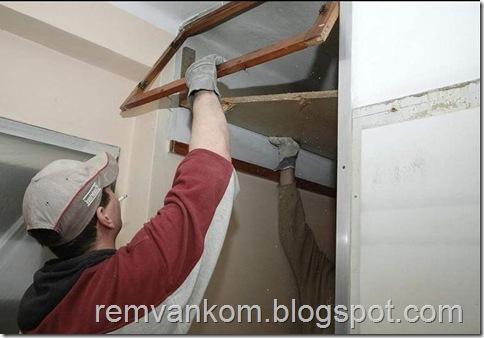 комплексный ремонт ванной комнаты 6