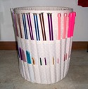 Knitting Bucket Organizer