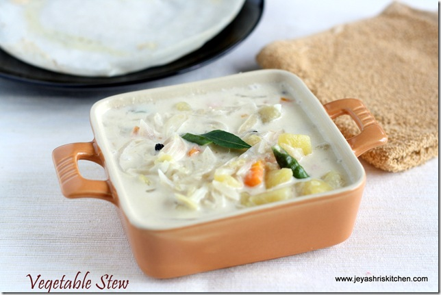 Vegetable stew recipe for aapam kerala style veg stew jeyashris vegetable stew recipe for aapam kerala style veg stew jeyashris kitchen forumfinder Image collections