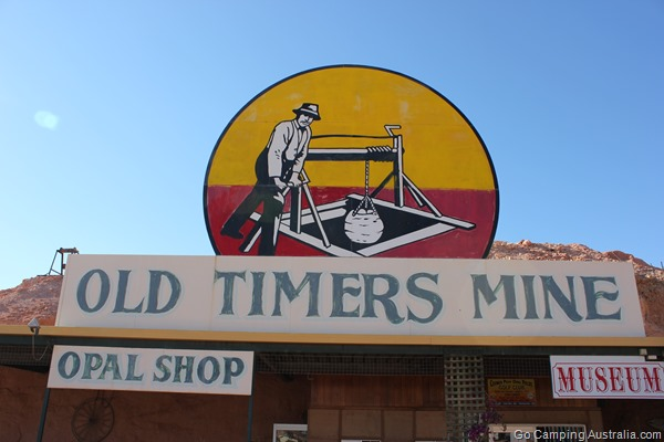 Coober Pedy old timers mine