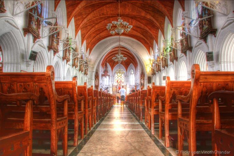 Chennai temple from flickr user VinothChandar