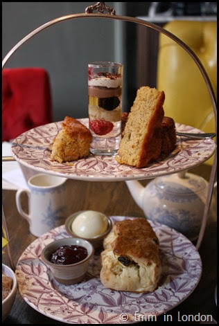 Gluten free afternoon tea Pantry 108 Marylebone Hotel