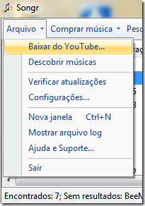 Baixar do YouTube