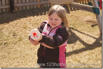marshmallow shooter kids activity
