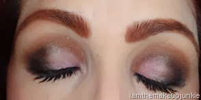 marie papachatzis with SEPHORA IT Shimmering palette and l'oreal infallible eyeliner