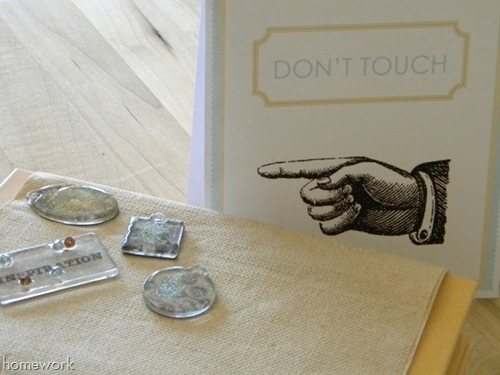 Don't Touch printable