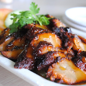 special vegetarian char siew (mock meat) @ Love Health