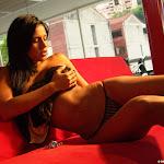 Andrea Rincon, Selena Spice Galeria 52 : Sofa Rojo Pasion, Lenceria Con Encaje – AndreaRincon.com Foto 16