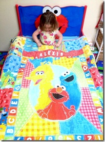 Alexis's 2nd BD quilt.