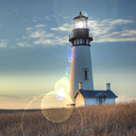 Animated LightHouse Live Wall logo