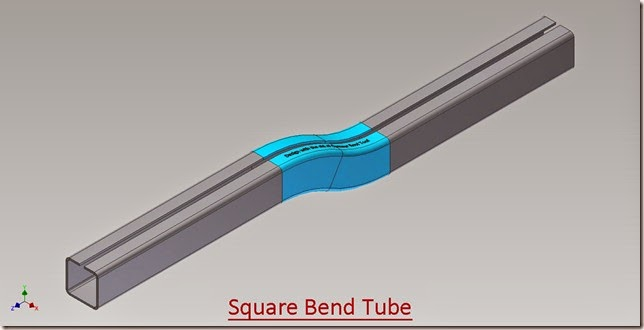 Square Bend Tube