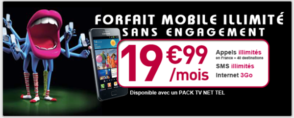 Offre NUMERICABLE