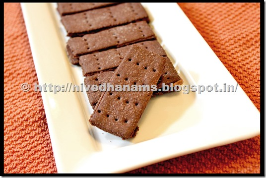Chocolate Bourbon Biscuit - IMG_3372