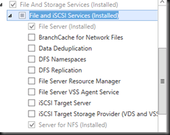 HYPER-V,SYSTEM CENTER AND AZURE: Create Windows Server 2012 NFS File