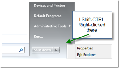 A magic means to exit Windows Explorer without using Task