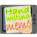 Handwritten notes Memo for Tab icon
