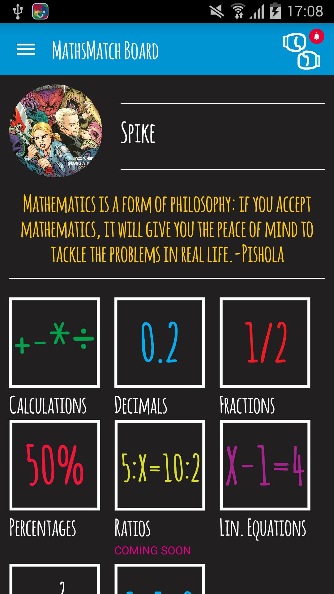 Maths Match screenshot #2