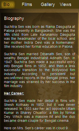 Suchitra Sen- screenshot