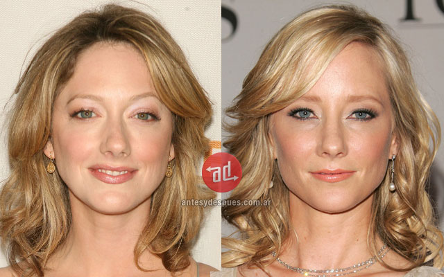 Celebrity Look-alikes: Judy Greer Anne Heche