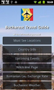 Bucharest Travel Guide screenshot 0