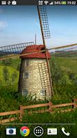 Screenshot of Beautiful Windmill LWP free