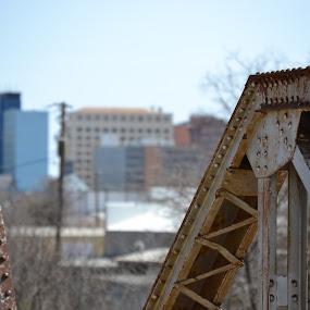 Wichita Falls, Texas by Cal Johnson - City,  Street & Park  Skylines ( home, old, skyline, texas, city )