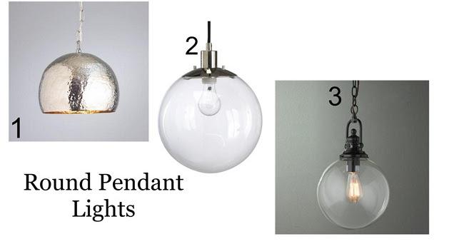 Kitchen Globe Lights