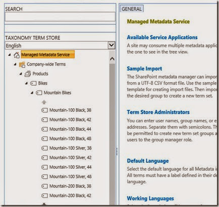 SharePoint Managed Metadata Term Store Tool