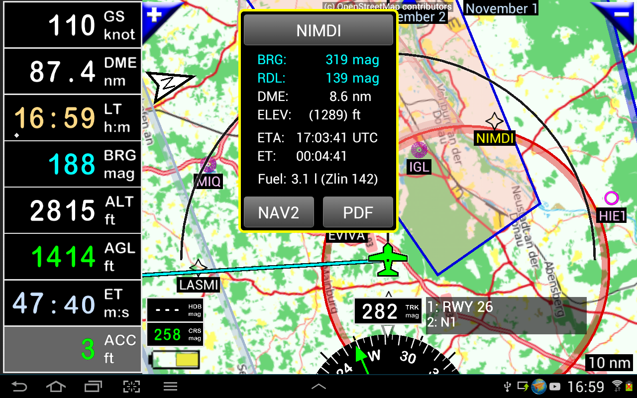 FLY is FUN Aviation Navigation- screenshot
