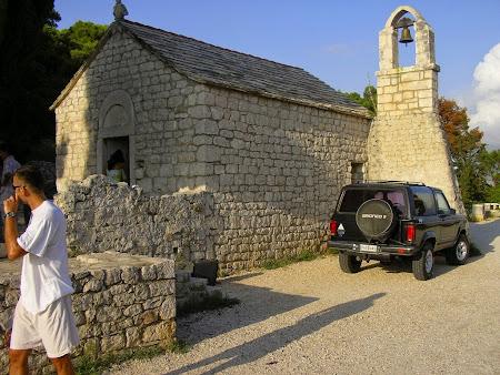 Obective turistice Split: capela pe dealul Marjan